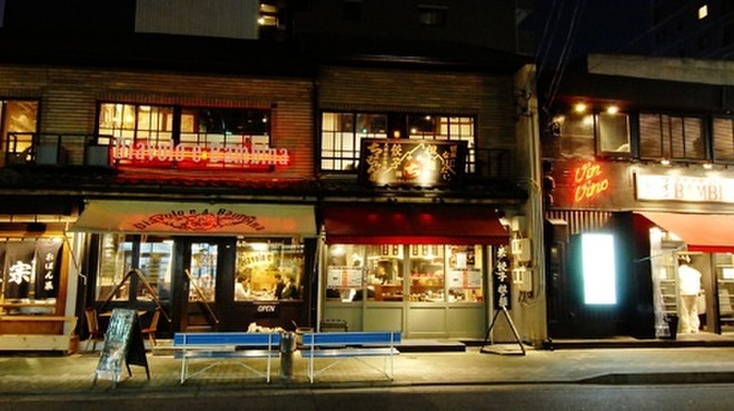 魚正宗 - 外観写真:名駅酒場の一角です。