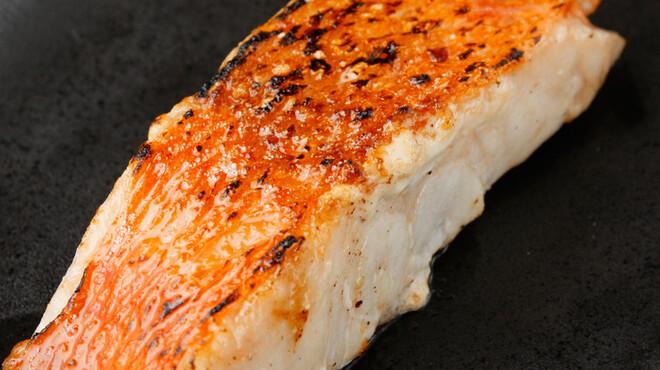 魚串さくらさく - 料理写真:金目鯛ゆず胡椒