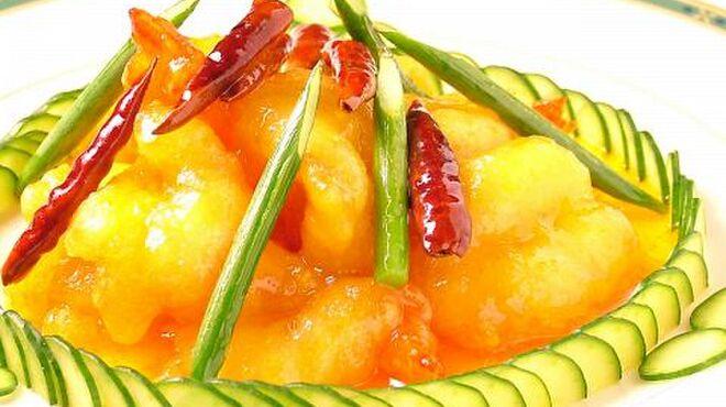 全聚徳 - 料理写真:車海老のピリ辛香り炒め