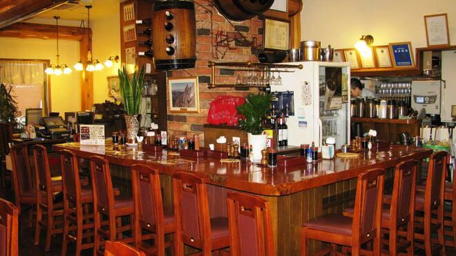 モンブラン - 内観写真:☆カウンター席☆夜はお酒の席としてもご利用いただけます♪