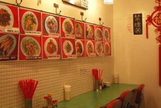幸福粥店 - 内観写真:屋台風の店内!お一人様ももちろんOKのカウンター席もあります