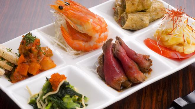 ハカタ オノ - 料理写真:HAKATA ONO旬の前菜六宝盛り合わせ