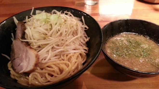 瞠 - 料理写真:煮干次郎つけ麺