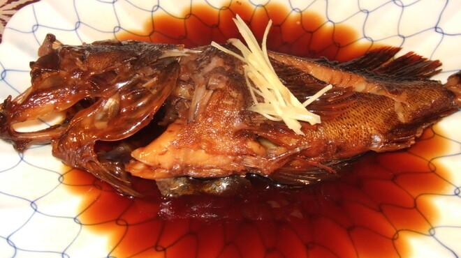 きむら - 料理写真:磯魚煮付2,000円より       かさご かわはぎ きんめなど  近海で獲れた新鮮な魚です