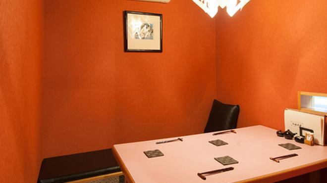 つるぎ - 内観写真:個室でゆったり落ち着いてお食事を