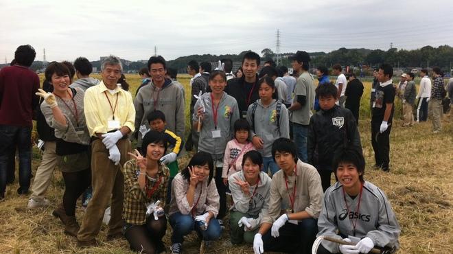 鐵の家 - その他写真:海老名の泉橋酒造さんにてスタッフ総出で稲刈りです!!