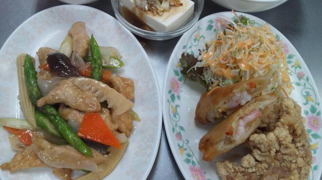 十八番 - 料理写真:アスパラゆず胡椒炒め