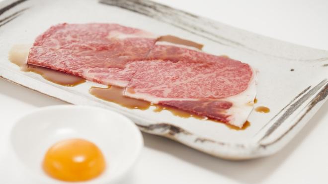 星遊山 - 料理写真:名物松坂牛炙りロース 口の中でとろけます♪