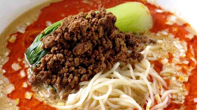 銀座小はれ日より - 料理写真:こだわりの担々麺(おまかせコースの料理例)