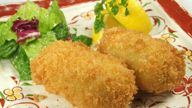 銀座ロビー - 料理写真:身がぎっしり詰まった 「タラバ蟹のクリームコロッケ」