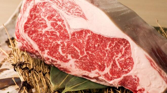 食彩和牛しげ吉 - 料理写真:40日間低温熟成させたエイジングビーフ!必食です