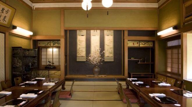 国登録文化財 二木屋 - 内観写真: