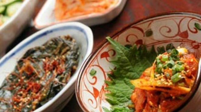 沙蘭 - 料理写真:一品メニューのキムチ・チャンジャなども他ではなかなか味わえない美味しさ!