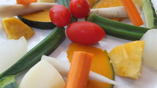 オルトキッチン - 料理写真:季節により、野菜は頻繁に変わります。