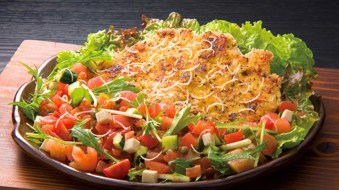 豚料理専門店 銀呈 - 料理写真:油で揚げないミラノ風カツレツは、野菜一杯であっさりと召上がって頂く女性人気メニュー。