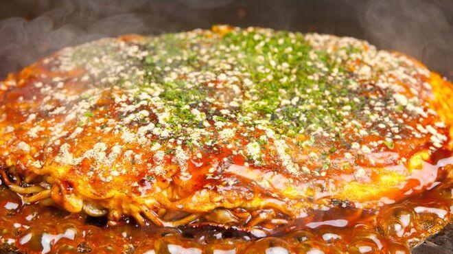 一休庵 - 料理写真:お好み焼きも一休庵ならではの作り方をしています