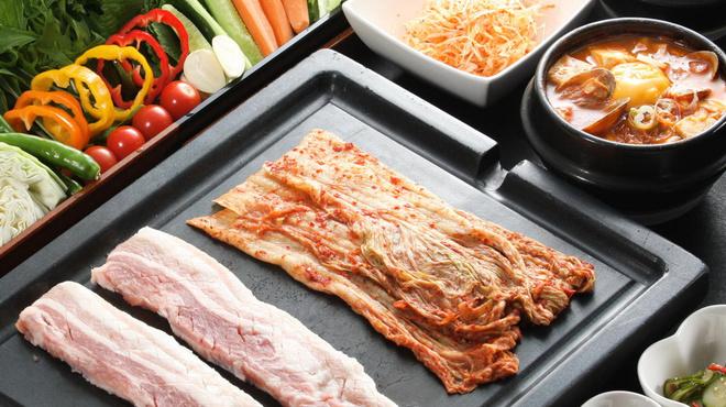吾照里 - 料理写真:サンパセット