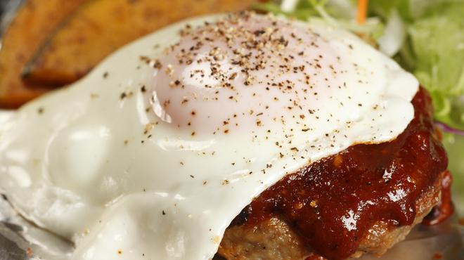 鉄板屋 我んが - 料理写真:ワシのハンバーグ