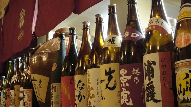 久助 - 料理写真:数よりも厳選にこだわった地酒と本格焼酎。 価格もコダワリの安心価格!