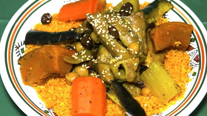 モロッコ料理カサブランカ - 料理写真:伝統料理のクスクス