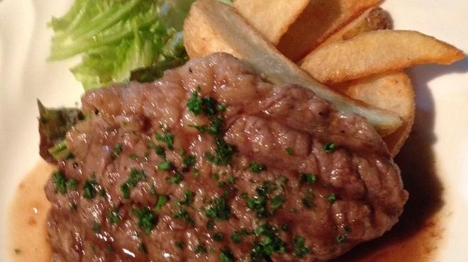 オルトキッチン - 料理写真:「牛リブロースのステーキ&フリット」