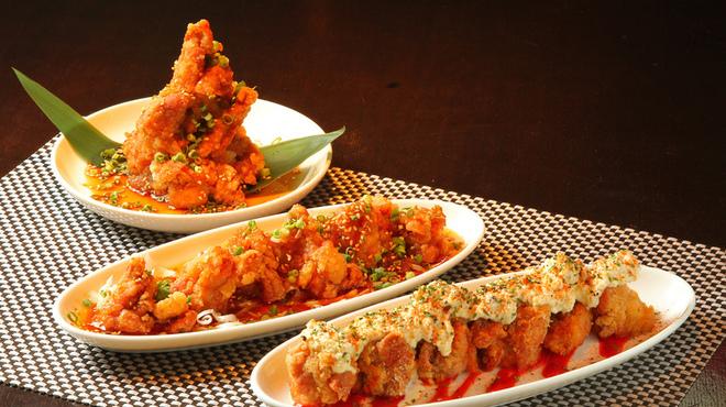 ばりすた - 料理写真:自慢の唐揚げ