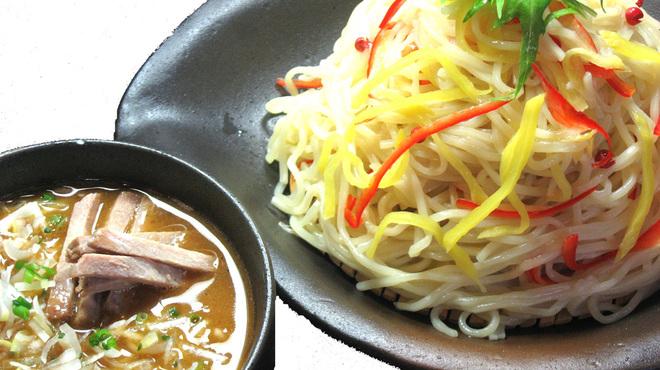 生粋 - 料理写真:白湯と秋刀魚のWスープ☆