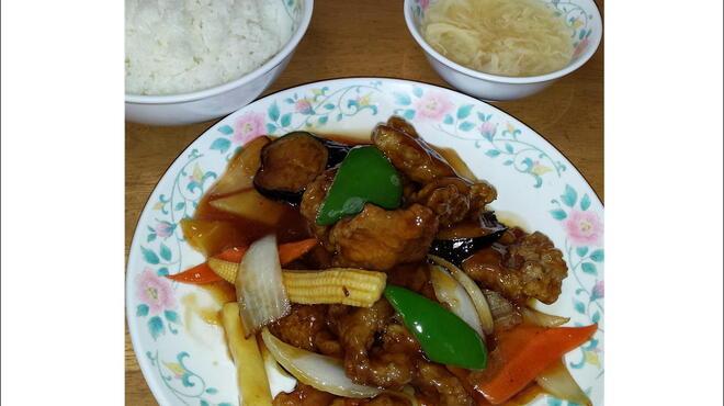 十八番 - 料理写真:10番 酢豚定食 630円