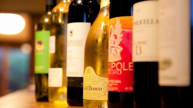 イル・ピアーノ - 料理写真:ワインも豊富に取りそろえております。
