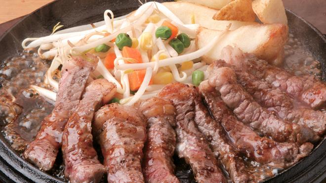 テキサスキングステーキ - 料理写真:テキサスキングステーキ 120g