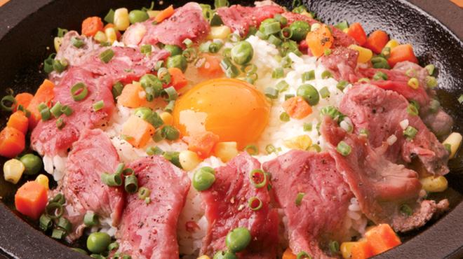 テキサスキングステーキ - 料理写真:テキサスビーフライス