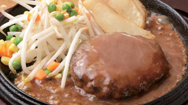 テキサスキングステーキ - 料理写真:オリジナルハンバーグ