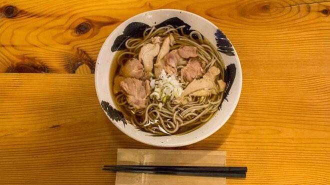 愛庵 - 料理写真:鳥そば 歯ごたえある鶏肉の旨味が絶品です!