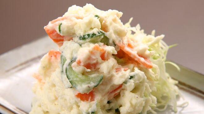 ときわ食堂 - 料理写真:ポテトサラダ
