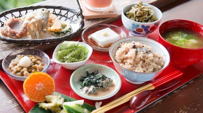 山の茶屋 楽水 - 料理写真:やぶさち定食