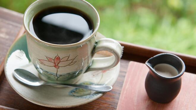 山の茶屋 楽水 - 料理写真:コーヒーにもこだわっています