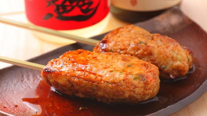 炉暖 - 料理写真:ふわふわの食感がたまらない美味しさ『自家製鶏つくね』