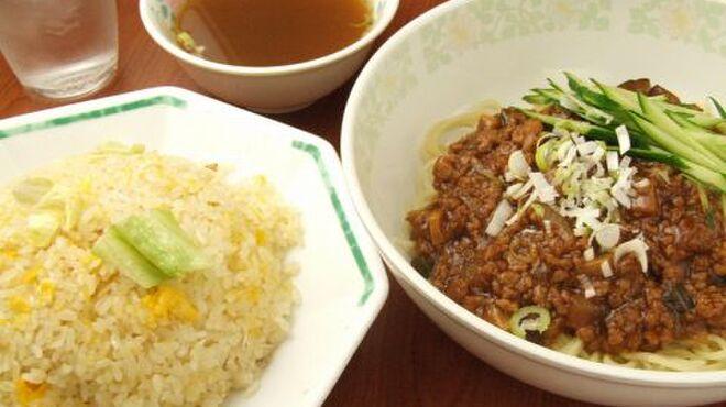 精陽軒 - 料理写真:ジャージャー麺半炒飯付きセット