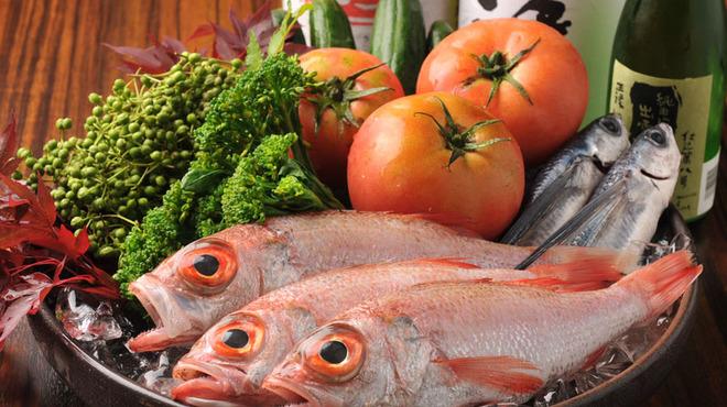 主水 - 料理写真:島根直送の新鮮素材