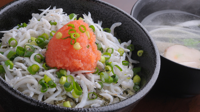 麺や七福 - 料理写真:地元に根付く店にしたい。だから、地元の食材を使用します