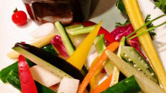 オステリア ボッカーノ - 料理写真:フレッシュ野菜のバーニャカウダソース