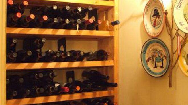 オステリア ボッカーノ - 内観写真:がぶ飲みワインコースあり♪