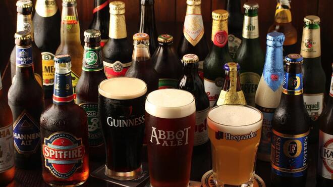 アボットチョイス - 料理写真:ビールの種類も豊富