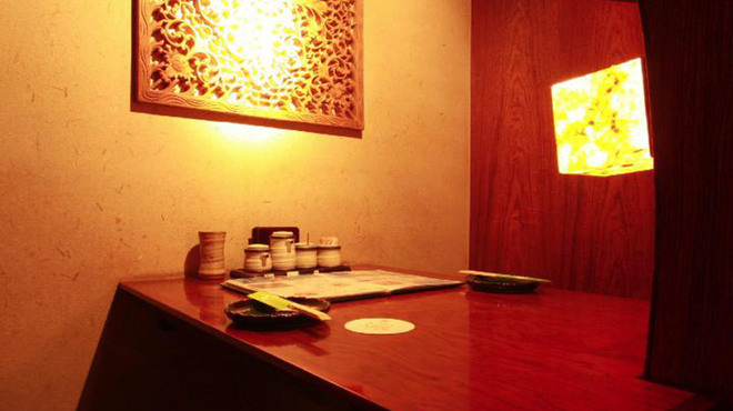 翠風 - 内観写真:【プライベート】独立BOX半個室