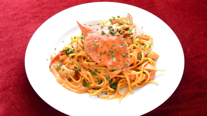 TAGEN DINING CAFE - 料理写真:渡り蟹のリングイネ