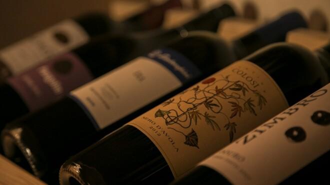 イタリア食堂 キャリー - 内観写真:ウォークインワインセラーございます!お好きなものをお選びください☆