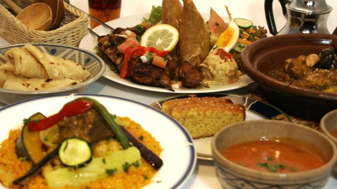 モロッコ料理カサブランカ - 料理写真: