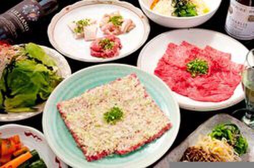 牛國 - 料理写真:大人気の牛国のコース。5000円、7000円、10000円でご用意致しております。!