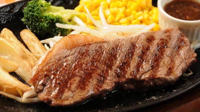 ブッチャーズ☆グリル - 料理写真:A4等級の黒毛和牛ステーキ!当店の黒毛和牛ステーキは日本一安いはずです!(笑)