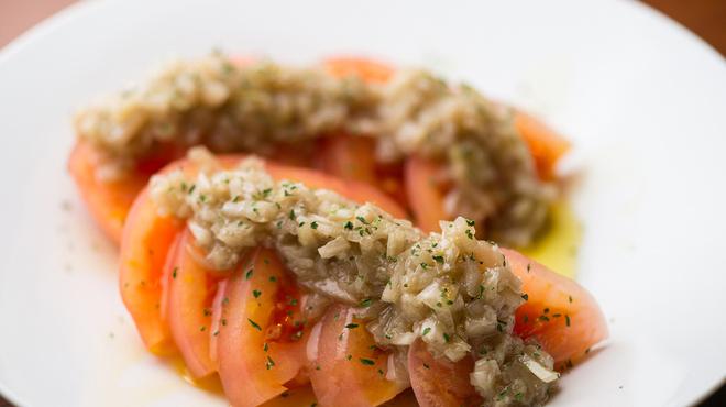 裏秋葉原 - 料理写真:冷やしトマト